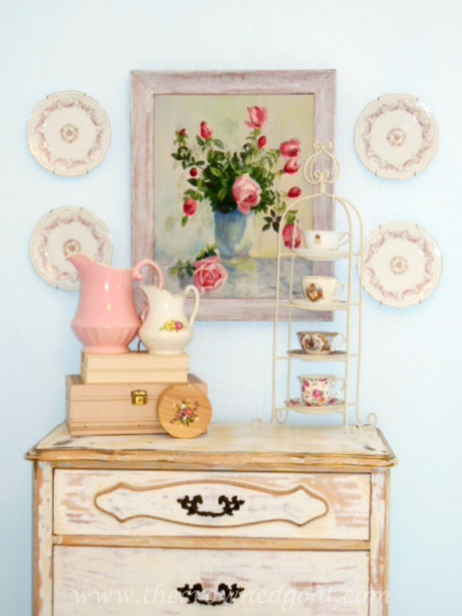 Shabby Chic Inspired Home Decor - The Crowned Goat - 071515-3