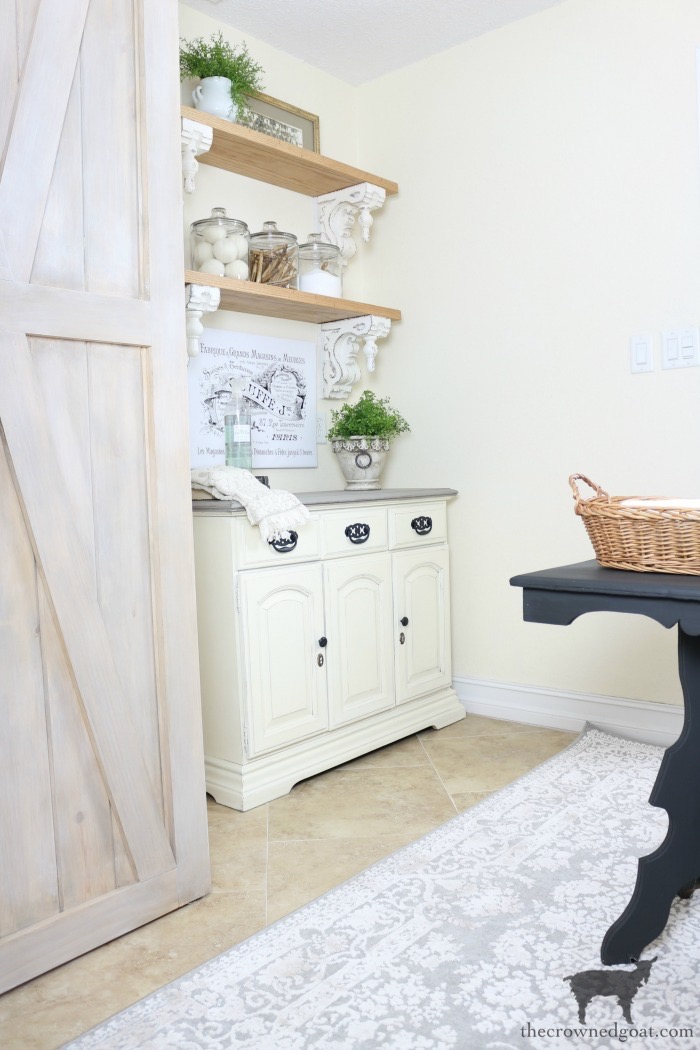 10 Tips for a More Organized Life - Laundry Room Organization - The Crowned Goat