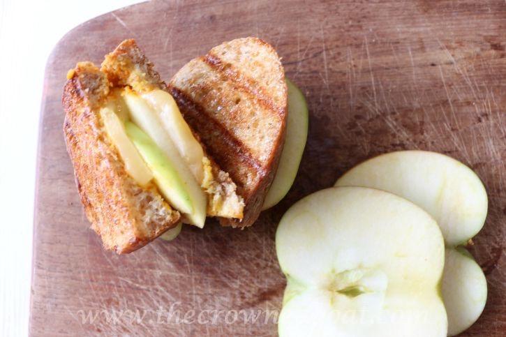 Fall Inspired Honeycrisp Apple Panini