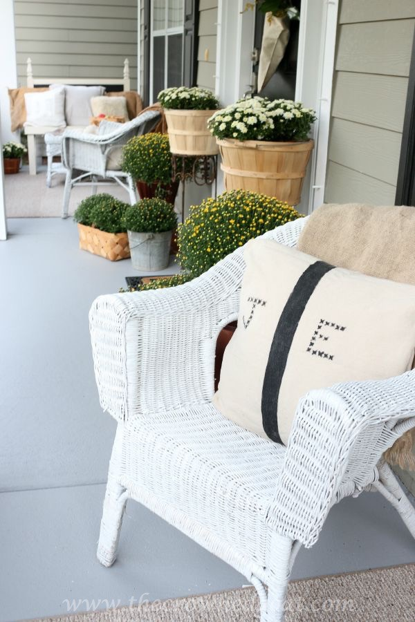 Fall Inspired Front Porch Tour