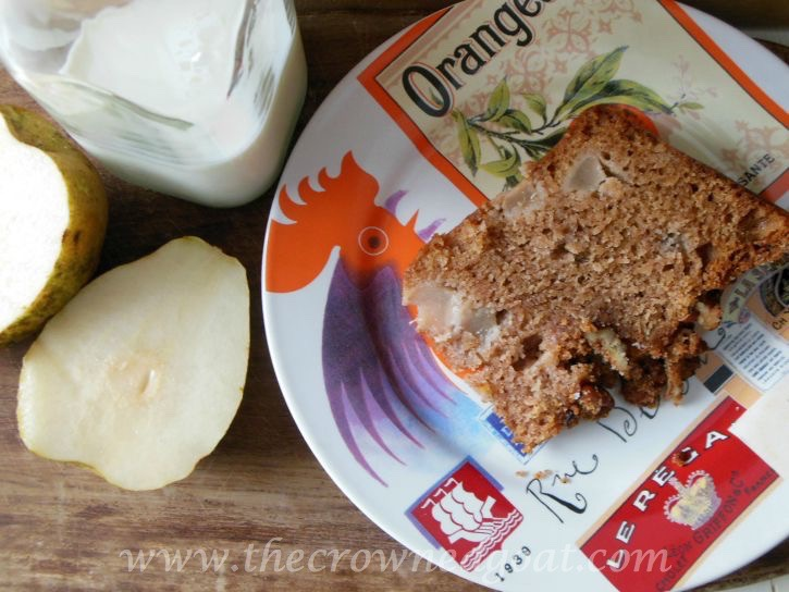 Pear Streusel Coffee Cake