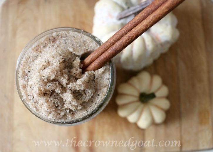 Easy Pumpkin Spice Latte Sugar Scrub