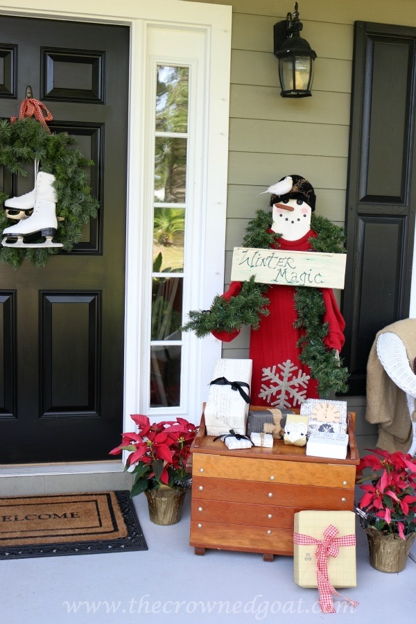 Christmas Inspired Front Porch
