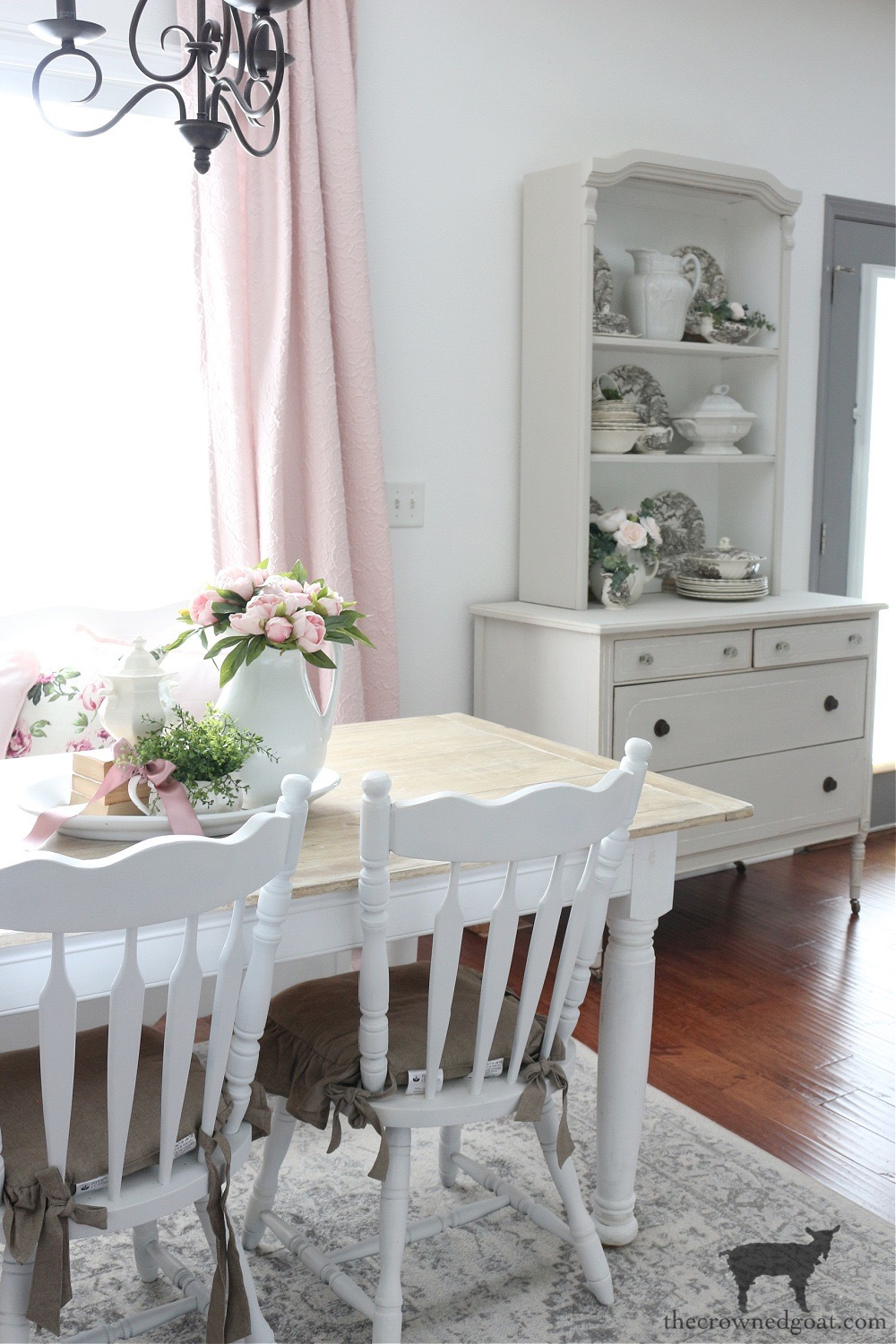 The Evolution of the Breakfast Nook-The Crowned Goat