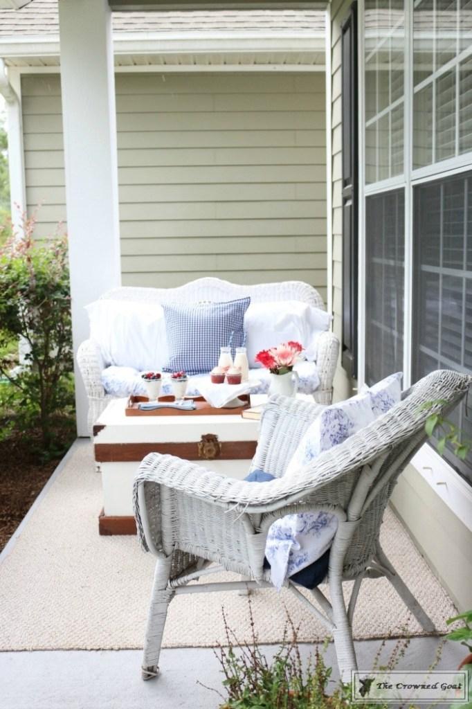 Patriotic Summer Porch - 16