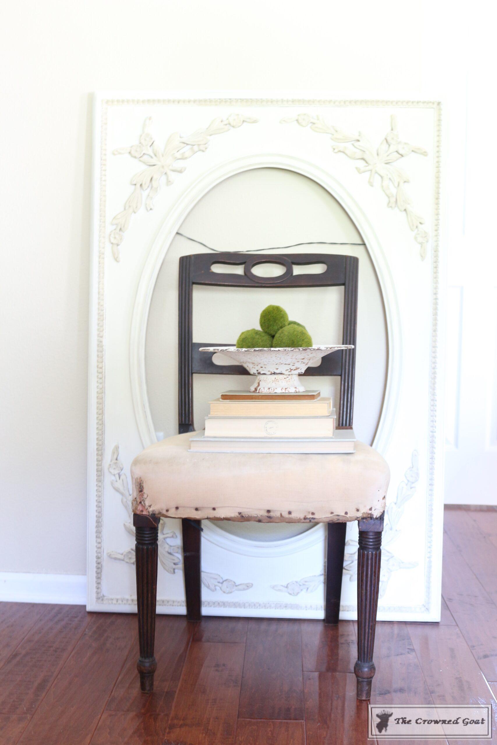 ASCP Vintage Mirror Frame Makeover