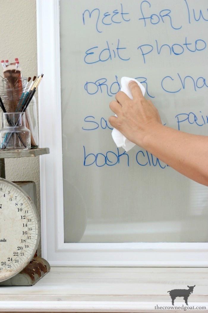 Easy to Make DIY Dry Erase Board