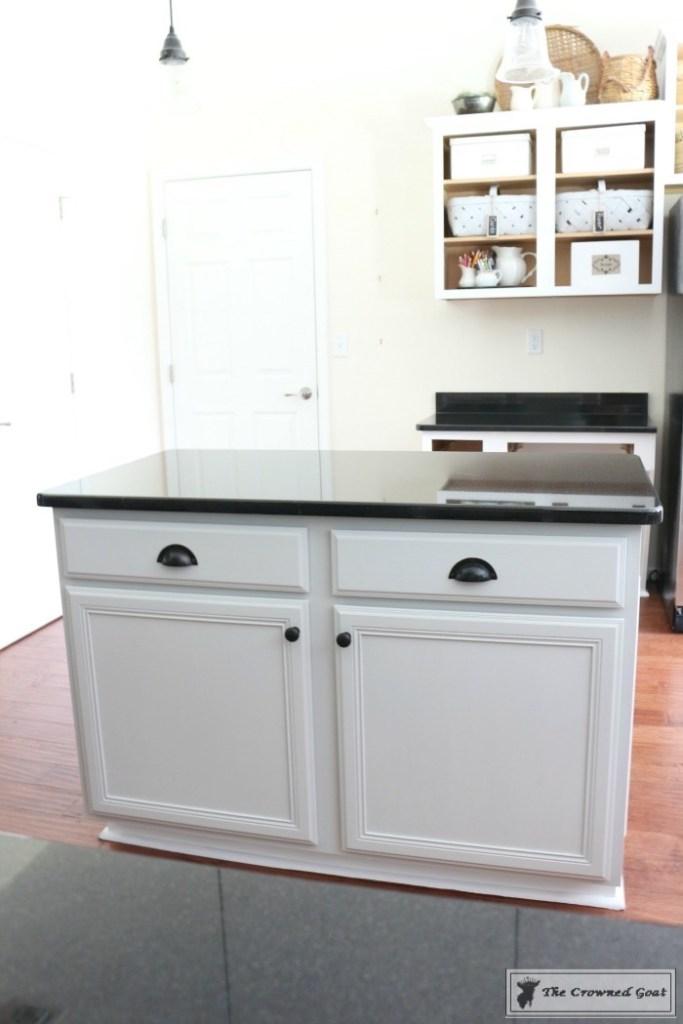 Seagull Gray Kitchen Island-17