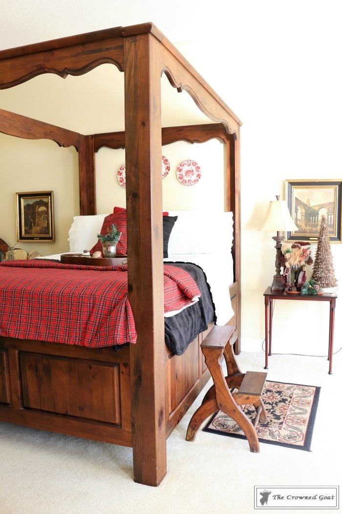 Christmas Inspired Bedroom at Bliss Barracks
