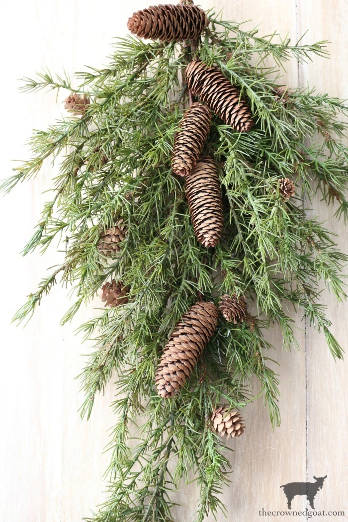 Decorating with Winter Greenery - The Crowned Goat