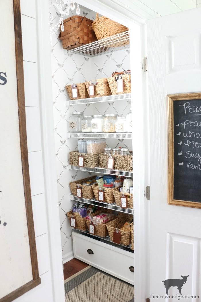 Organizing the pantry