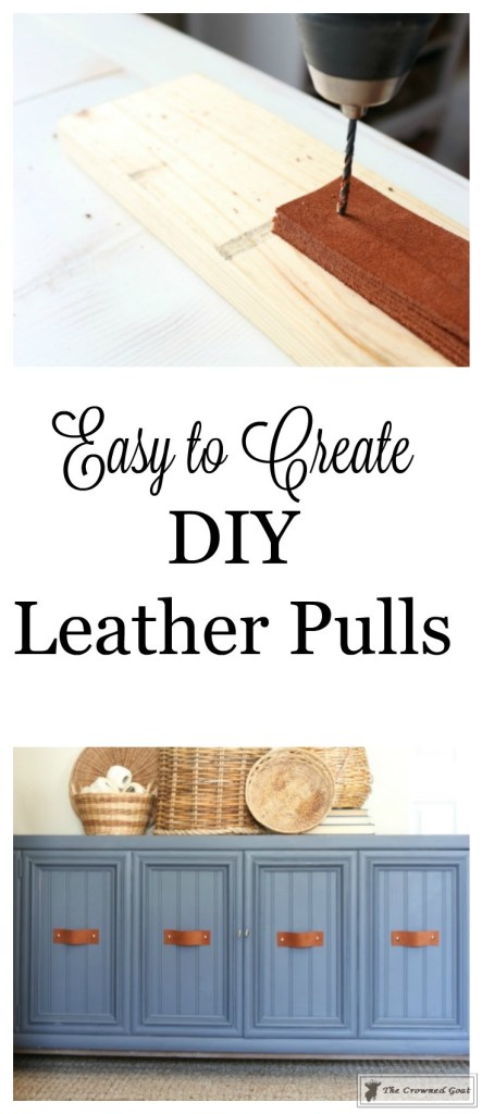 DIY Leather Pulls-The Crowned Goat-1
