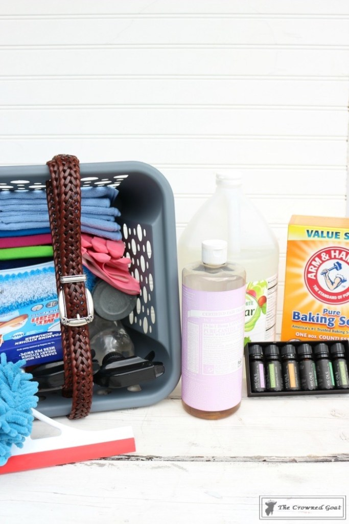 DIY Cleaning Caddy-The Crowned Goat-15