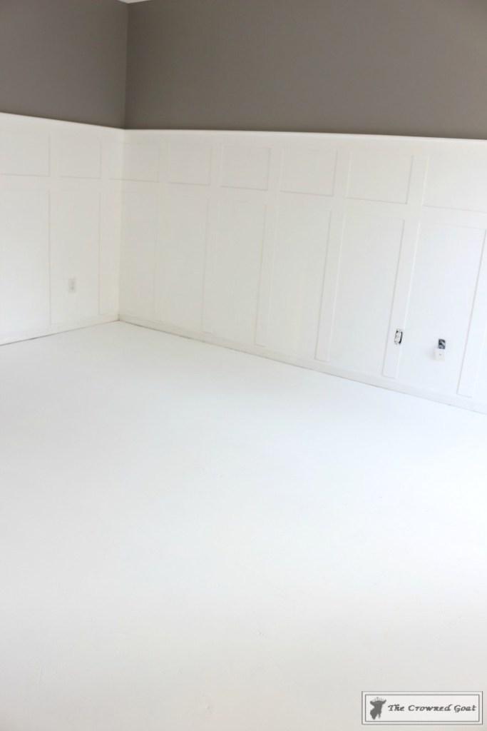 Easily Stencil a Concrete Floor-2