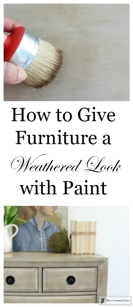 How to Weather Furniture with Paint-1