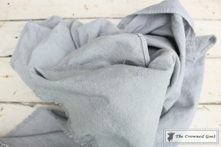 How to Dye a Canvas Drop Cloth-16