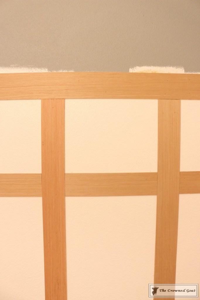 Adding Board and Batten to the Half Bathroom-5