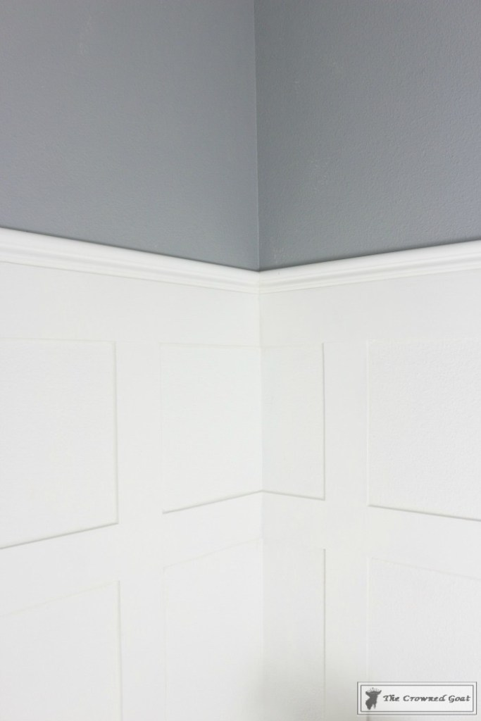 Adding Board and Batten to the Half Bathroom-9