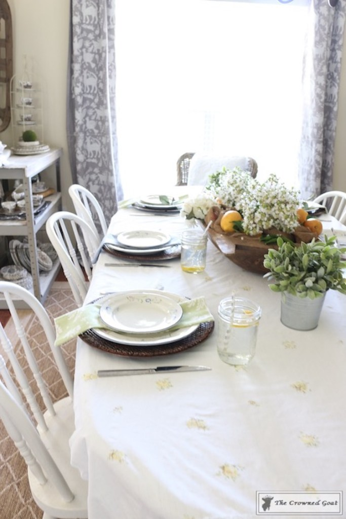 How to Create a Summer Tablescape-The Crowned Goat-13