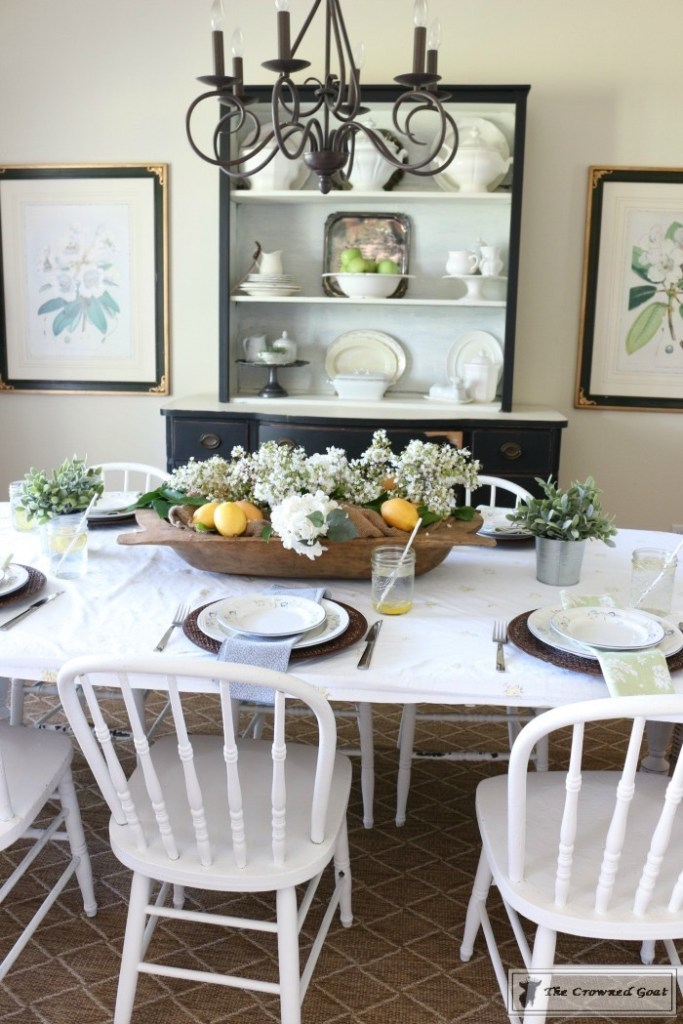 How to Create a Summer Tablescape-The Crowned Goat-16