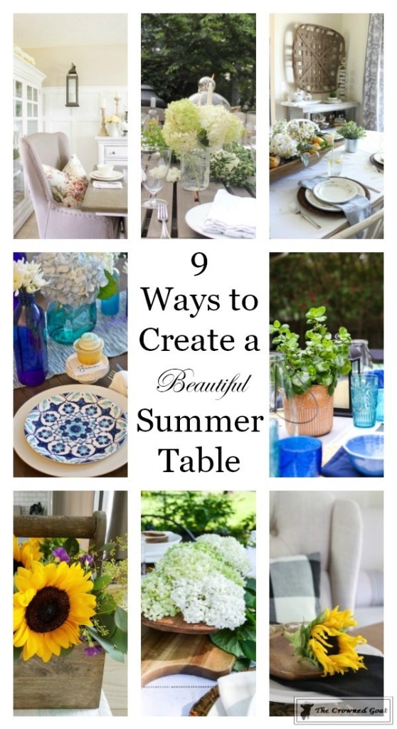 How to Create a Summer Tablescape-The Crowned Goat-17
