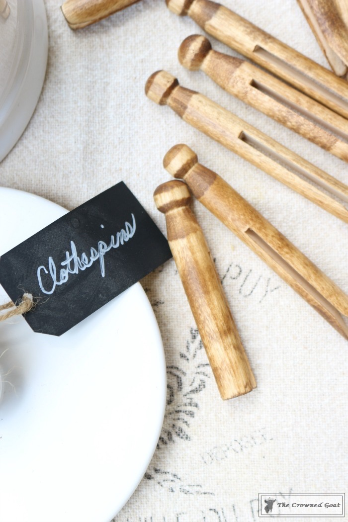 The Easiest Way to Age New Clothespins