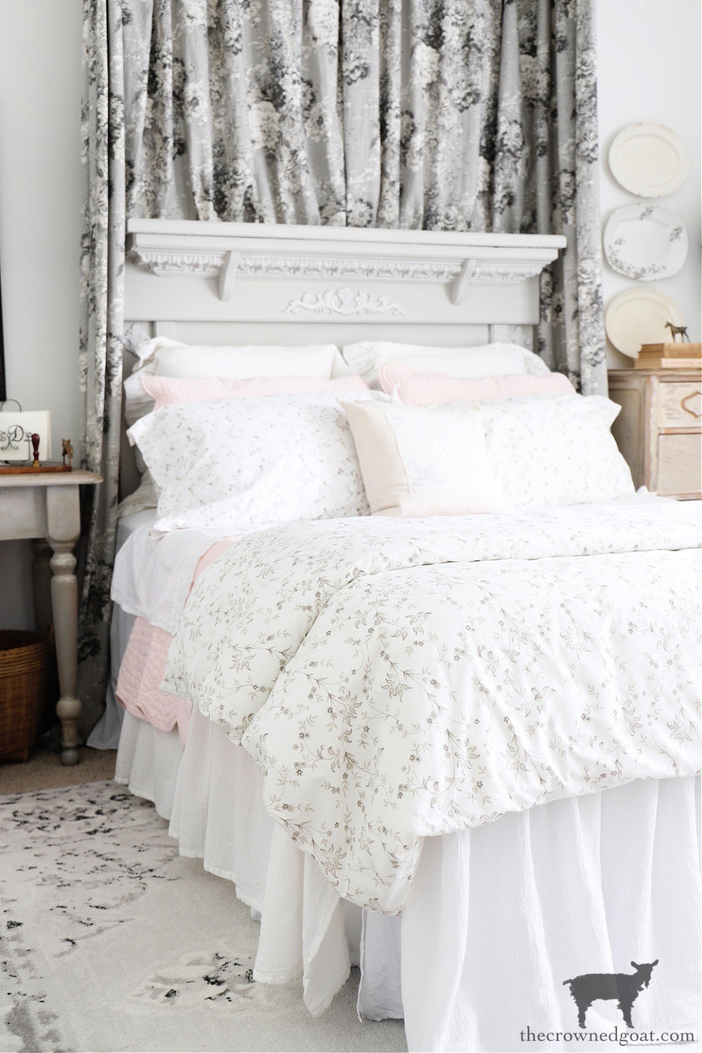 Journeys End Home Tour-Cottage Guest Bedroom-The Crowned Goat