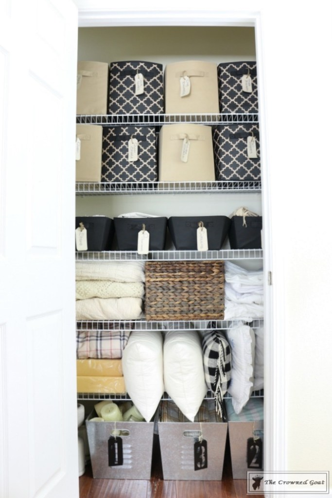 Tips and Tricks for Clutter Free Linen Closets-2