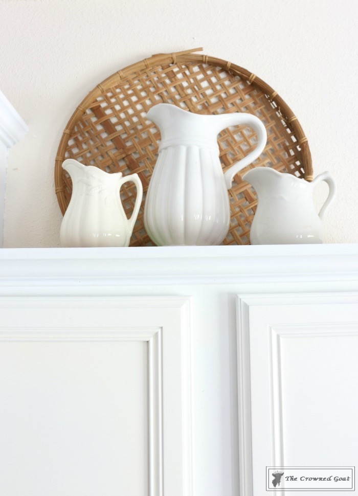 Decorating Kitchen Cabinets-The Crowned Goat-10