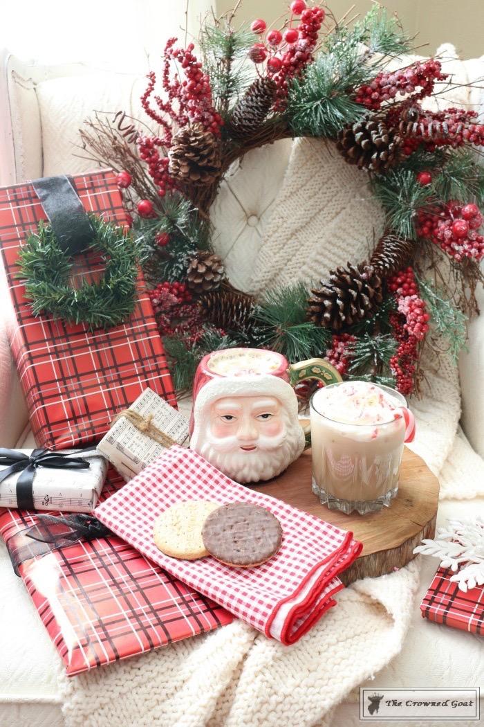 Santa's Cozy Cabin Holiday Cocktail