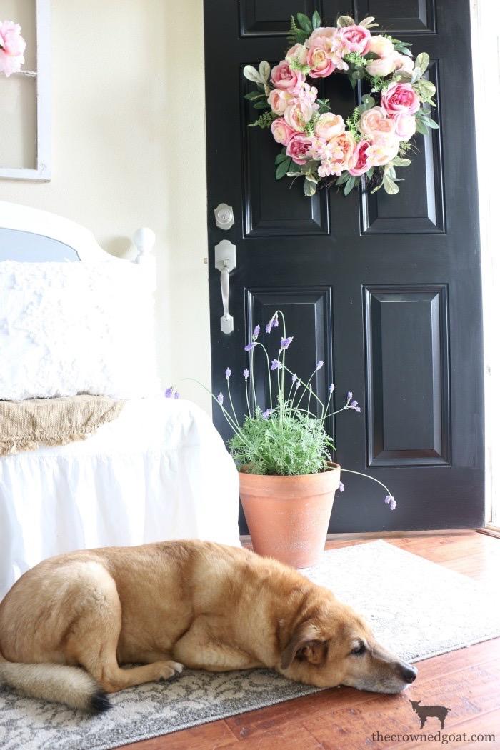Spring Inspired Entry