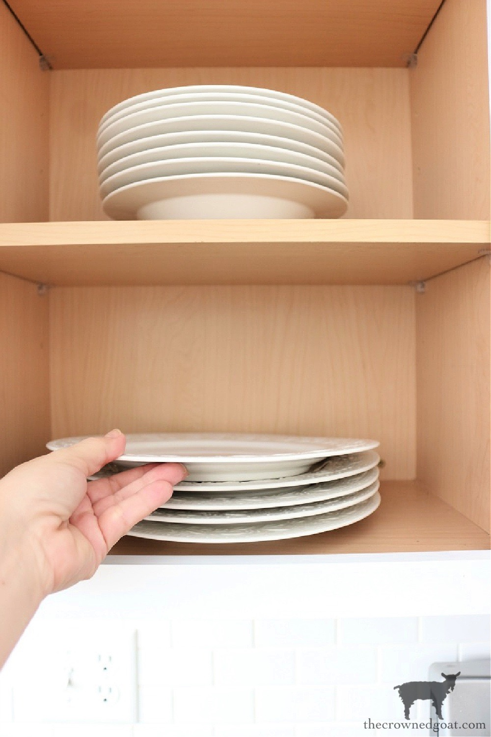 Housekeeping Habits We Practice Every Day-Unload the Dishwasher-The Crowned Goat