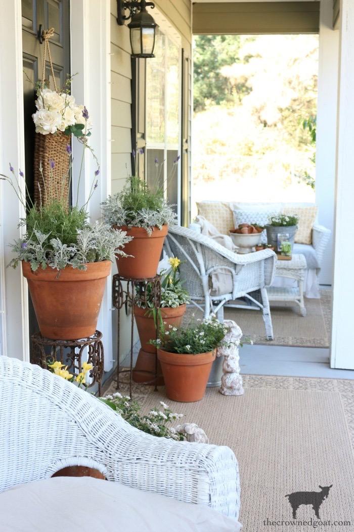 Spring Front Porch Inspiration & Blog Hop