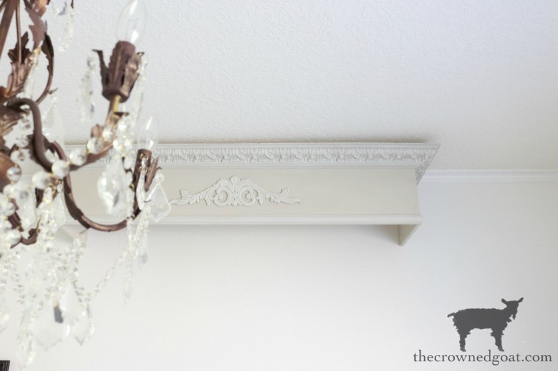 DIY French Country Bed Crown