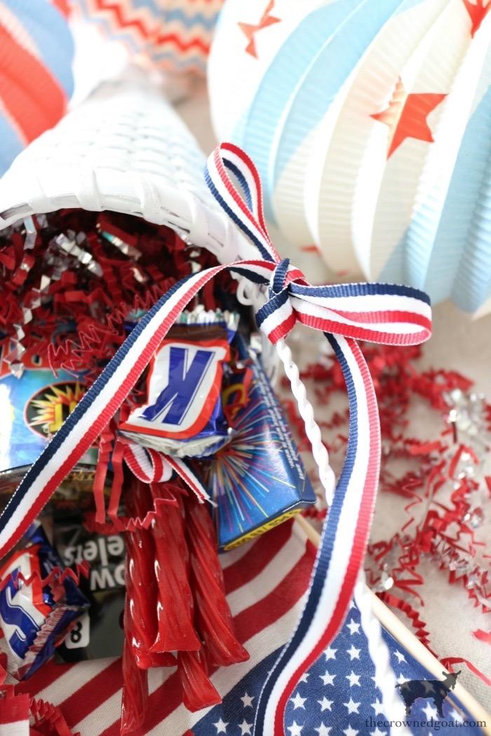 Quick & Easy Patriotic Party Cones