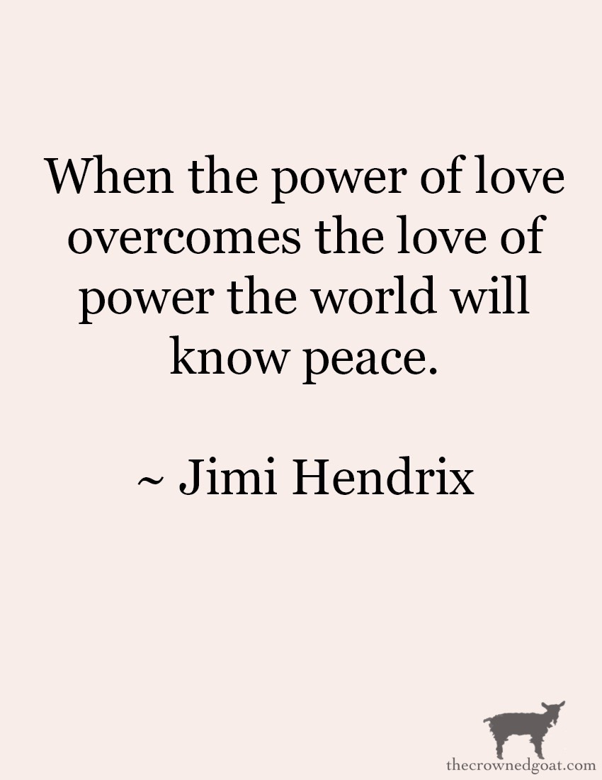 Quote by Jimi Hendrix