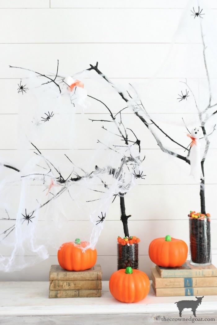 DIY Halloween Trees