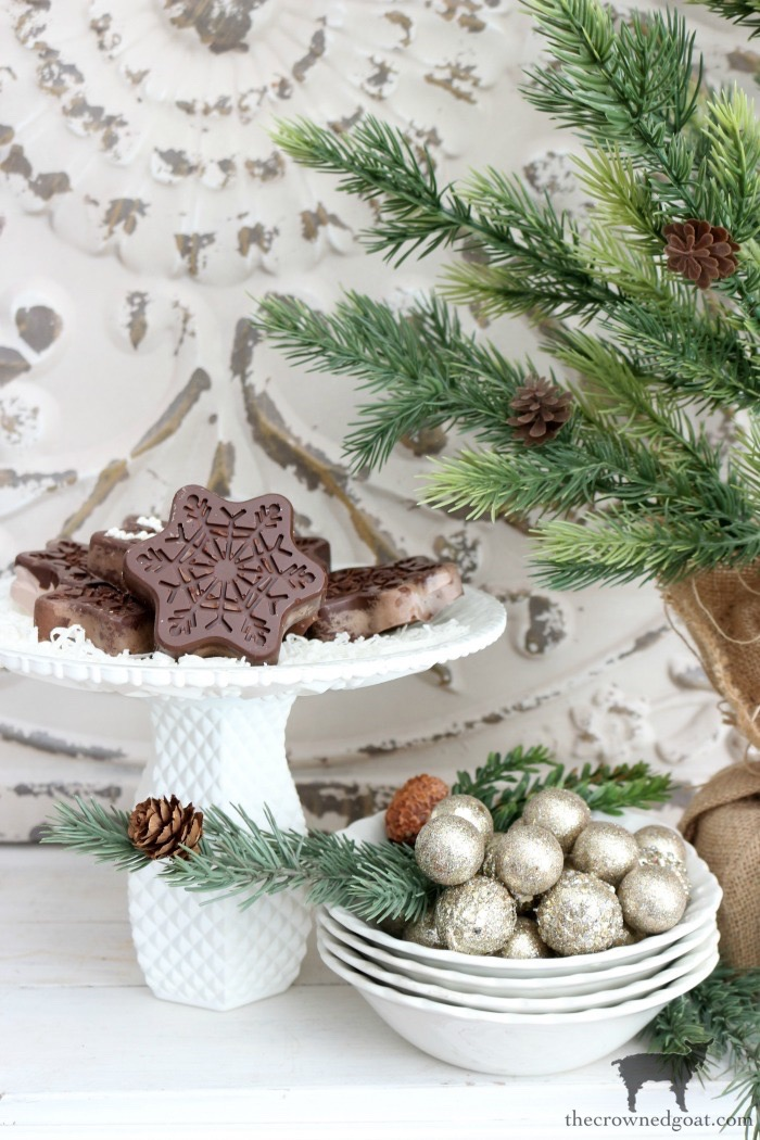 Chocolate Covered Oreo Snowflake Cookies