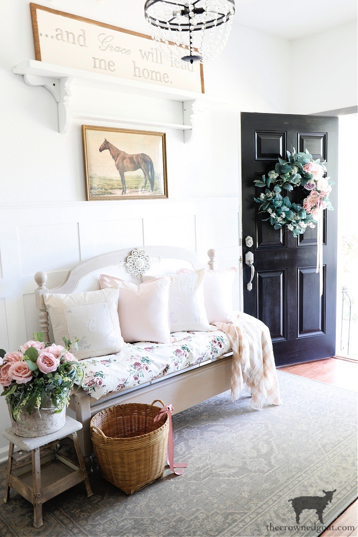 Spring to Summer Entry Ideas - The Crowned Goat