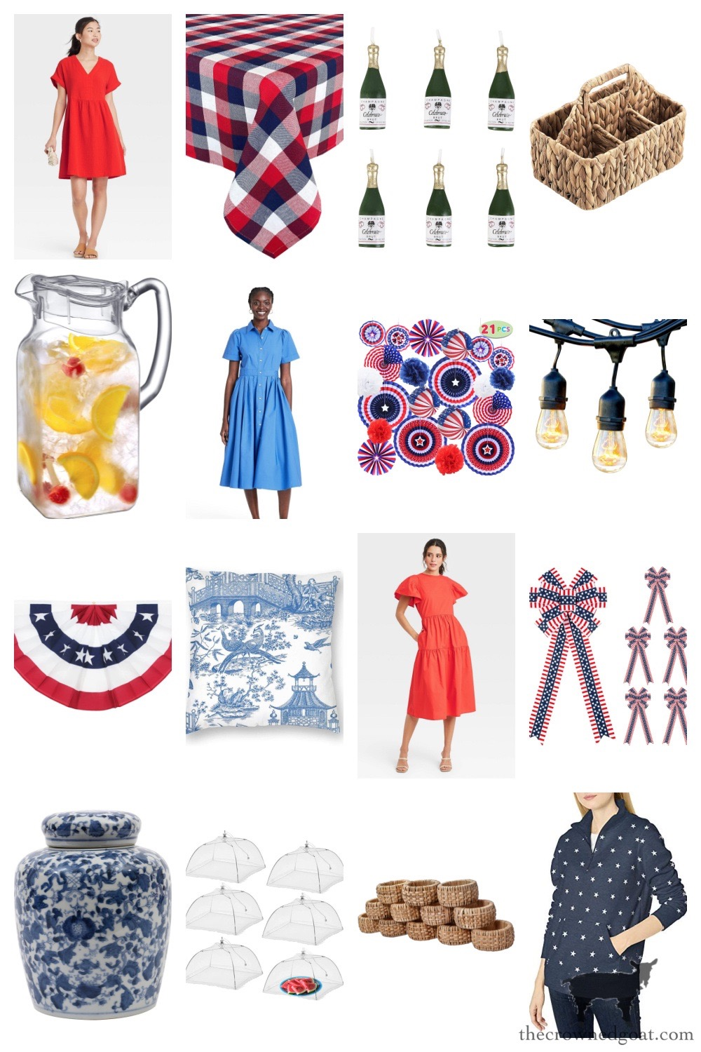 Memorial Day and Patriotic Finds from Amazon and Target - The Crowned Goat