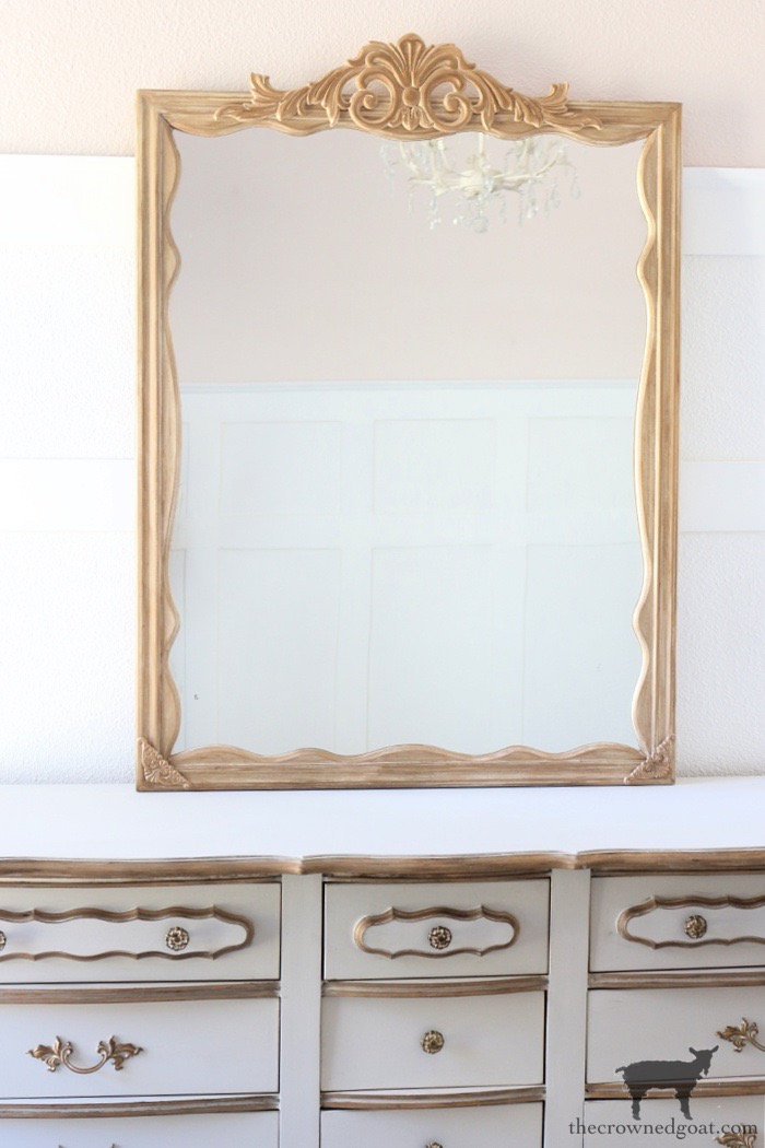 How to Create a DIY Anthropologie Inspired Mirror in 4 Simple Steps - The Crowned Goat