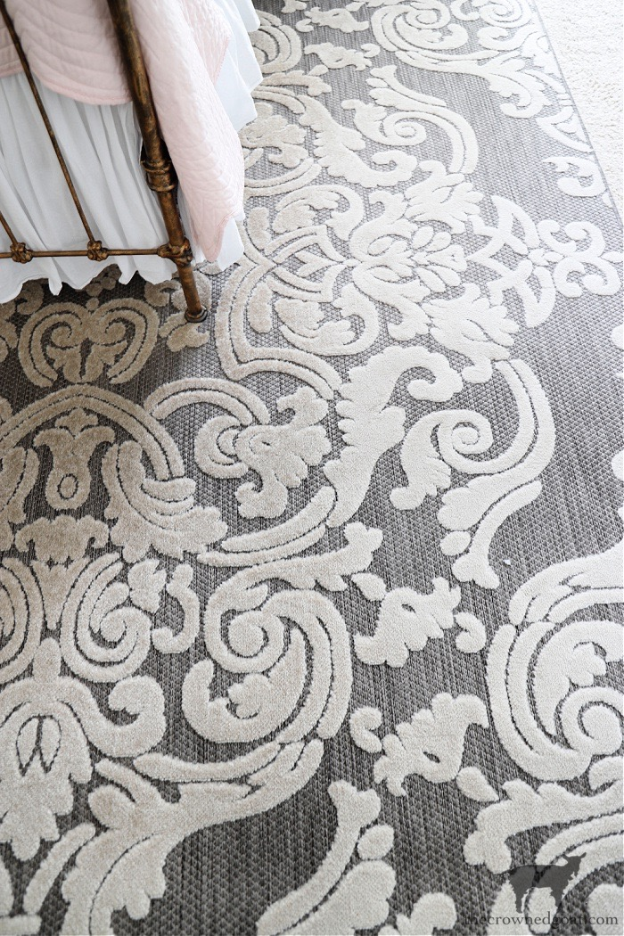 Joss and Main Rug-ORC Guest Bedroom Makeover-The Crowned Goat