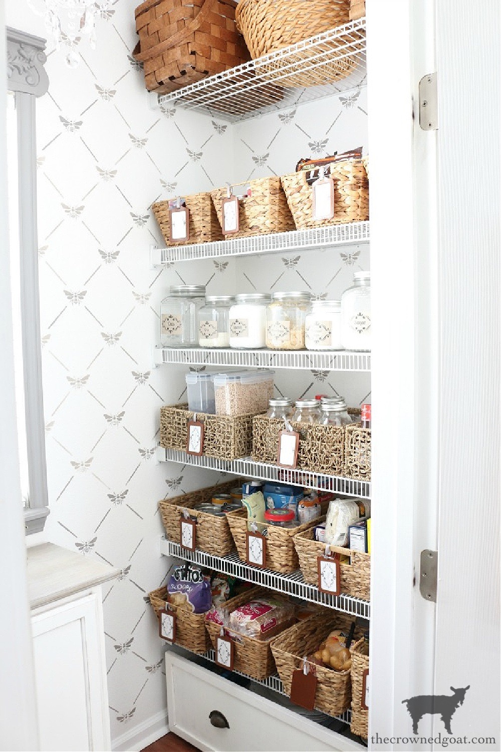 5 Key Spaces to Organize Before School Starts-The Pantry-The Crowned Goat