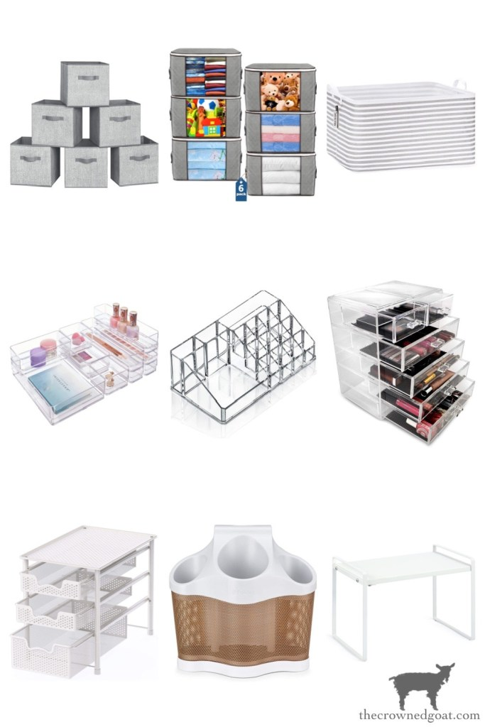 Bathroom Organization Ideas from Amazon-The Crowned Goat