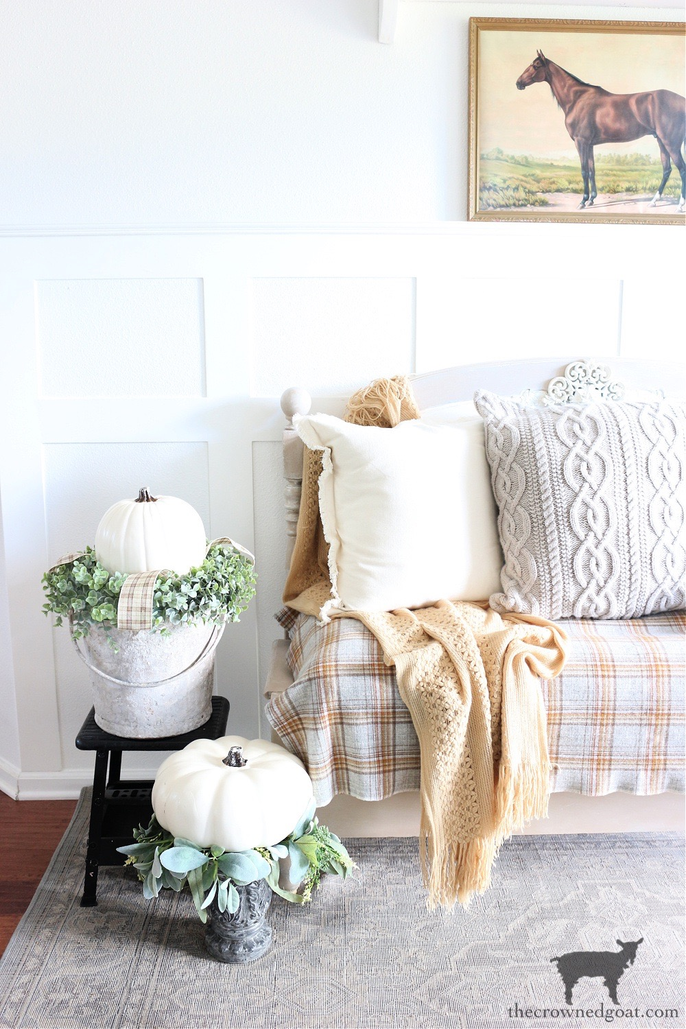 Fall Entry Inspiration with Pumpkins-The Crowned Goat