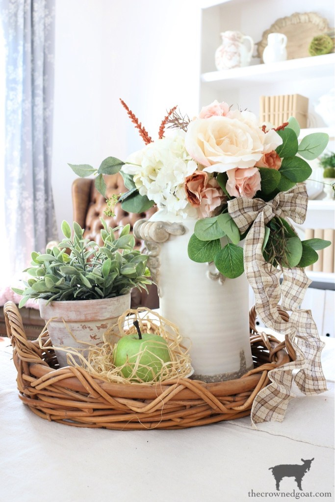 Fall Vignette with Green Apple-The Crowned Goat