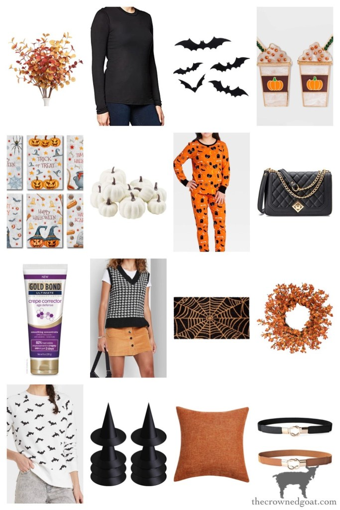 Halloween Items from Target and Amazon-The Crowned Goat