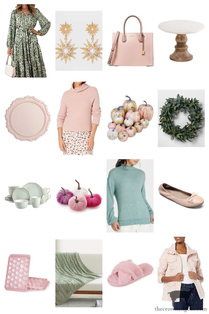 Mint and Blush Finds on Target and Amazon-The Crowned Goat