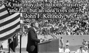 Through the people he brought to D.C., JFK kept alive ideas in a law that he didn't live to see. - ESEA Both NCLB & ESSA kill the ideas. Compare.