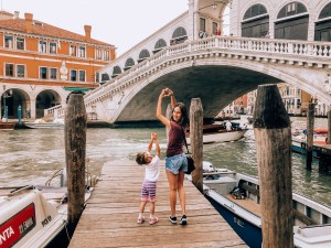 Mother and Daughter Rialto Bridge